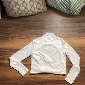 Backless Cropped Mock Neck ‼️2 For $20 ‼️